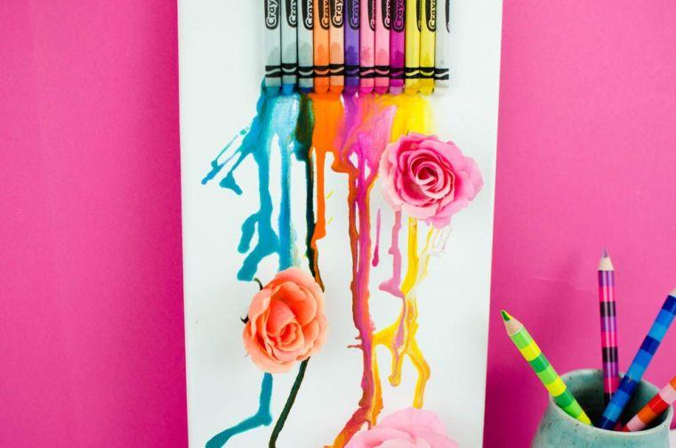 proyectos-originales-crayones-disenos-decorar-ninos