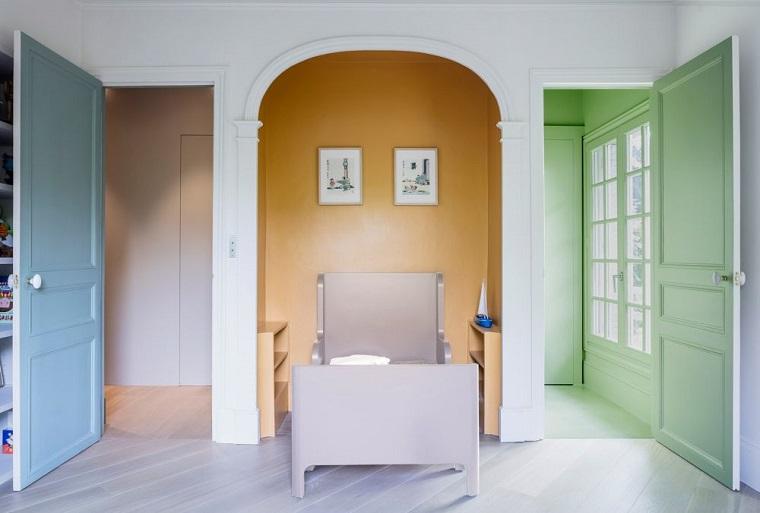 renovacion paredes acento claro