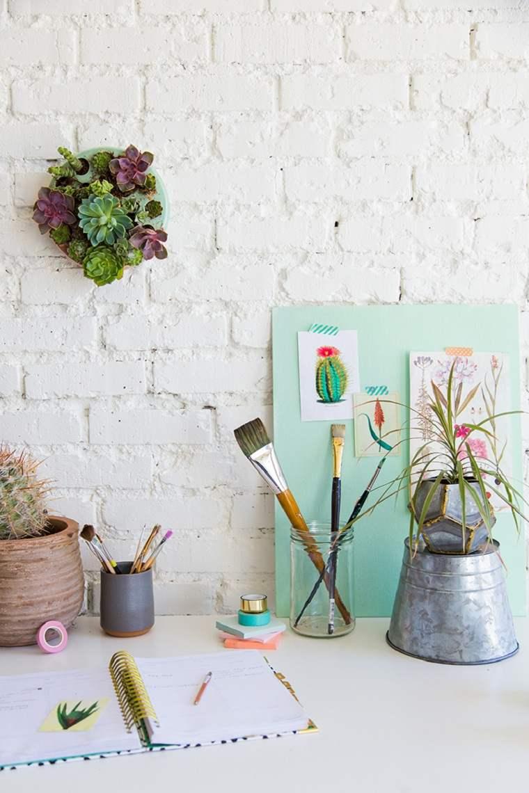 suculentas-plantas-pared-decorar-casa