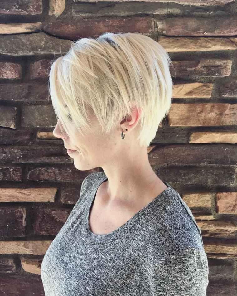 Peinado para cabello corto – 100 ideas para chicas atrevidas
