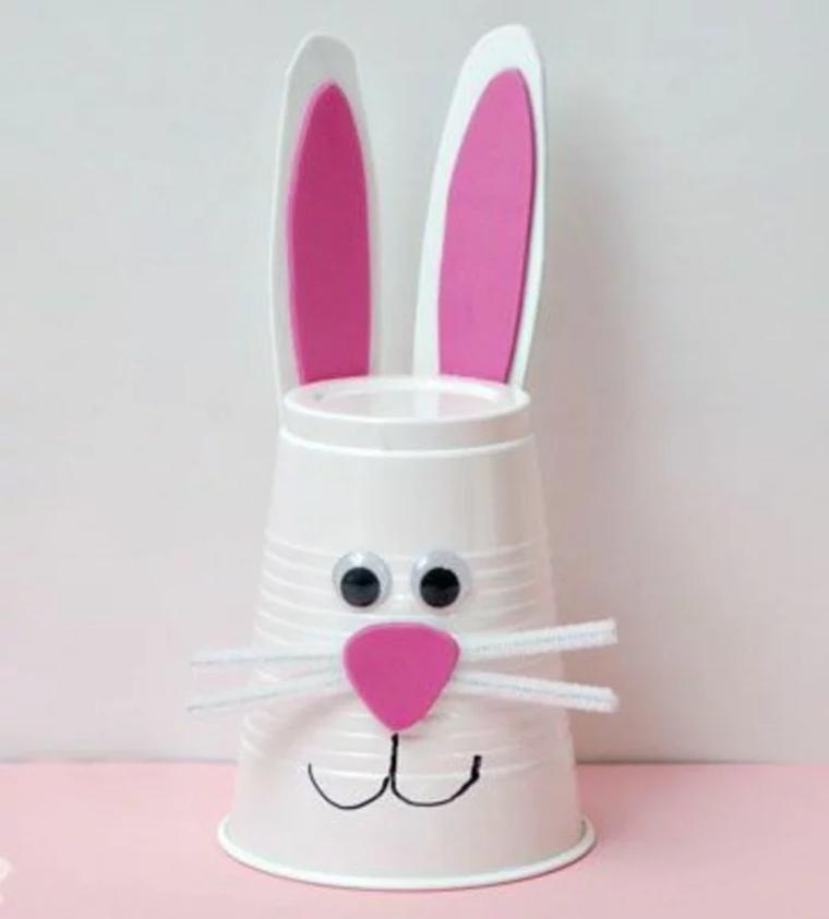 vaso-de-plástioc-conejo