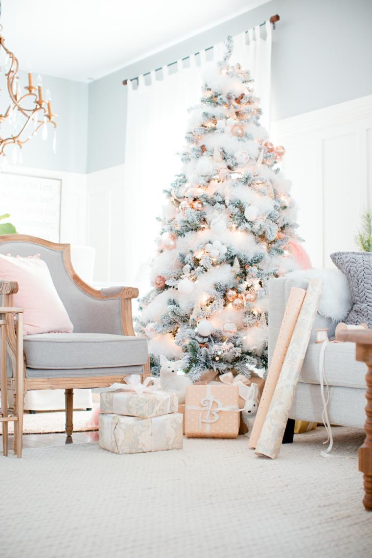 árbol-de-Navidad-rosado
