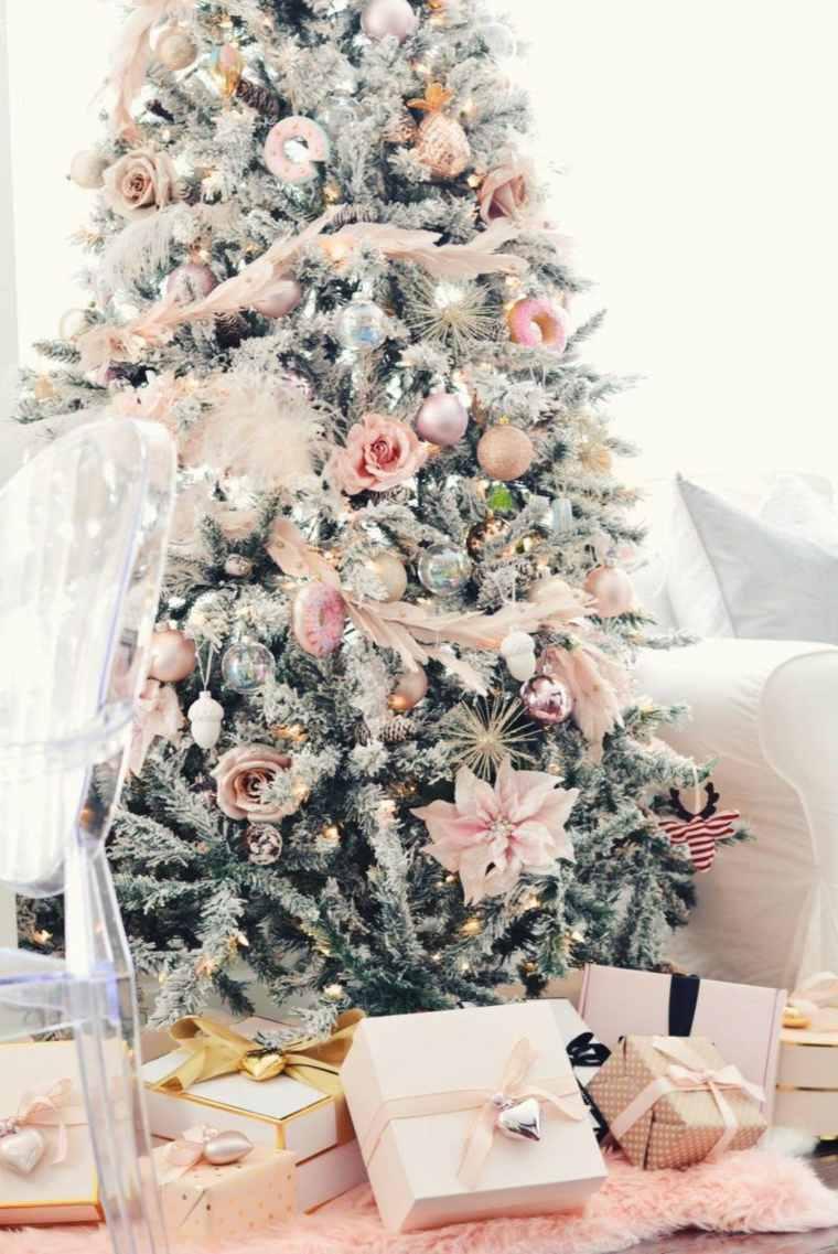 árbol-de-navidad-moderno-rosa
