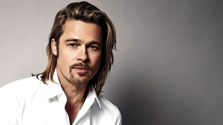 Brad-Pitt-hombre-barba-estilo-cabello