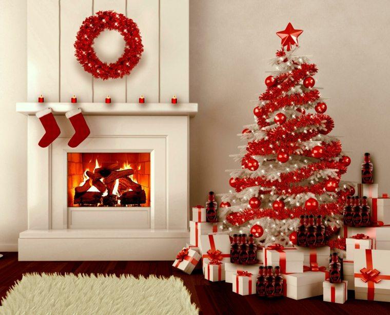 árbol-de-Navidad-rojo