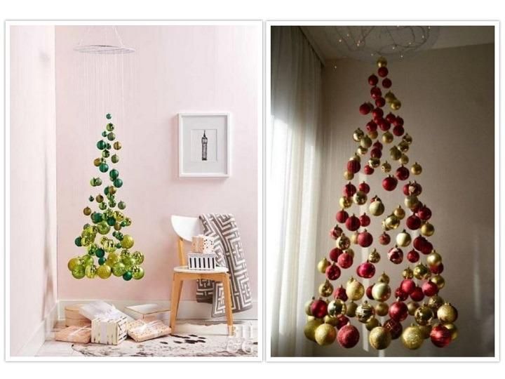 arbol de navidad concepto moderno
