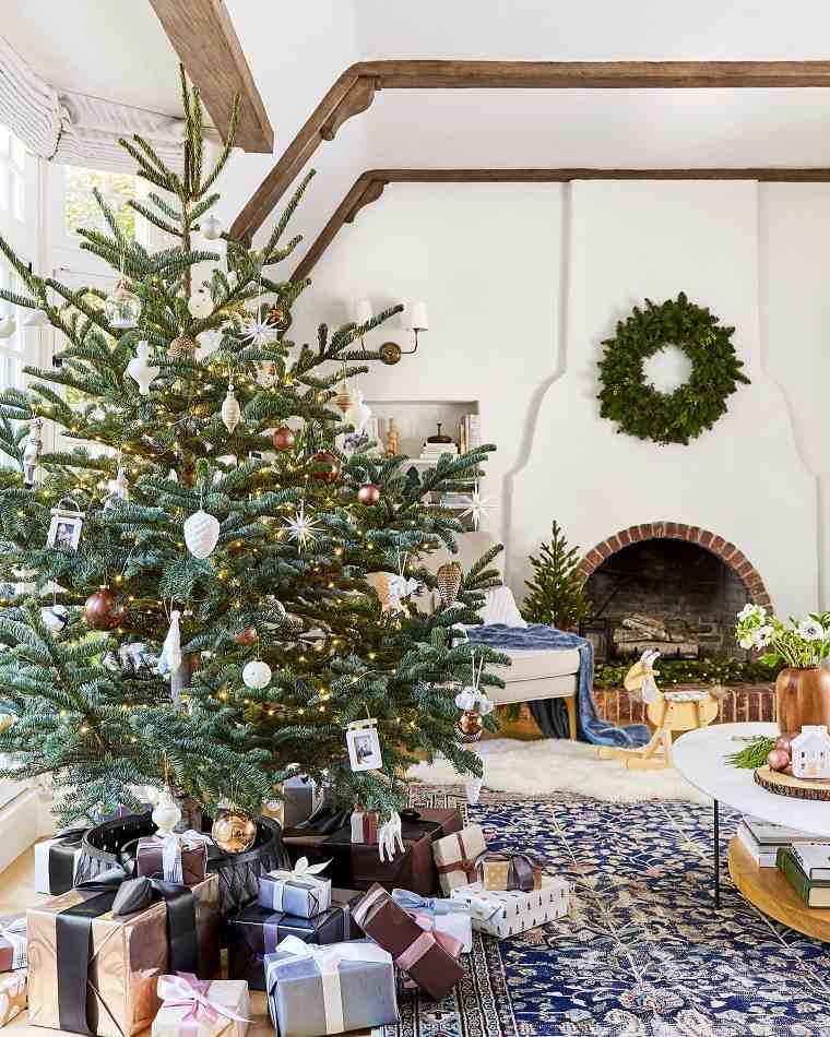 árbol de navidad-consejos-decoracion-simple-moderna