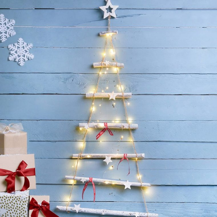 arbol-de-navidad-de-madera-pared-decoracion-colgando