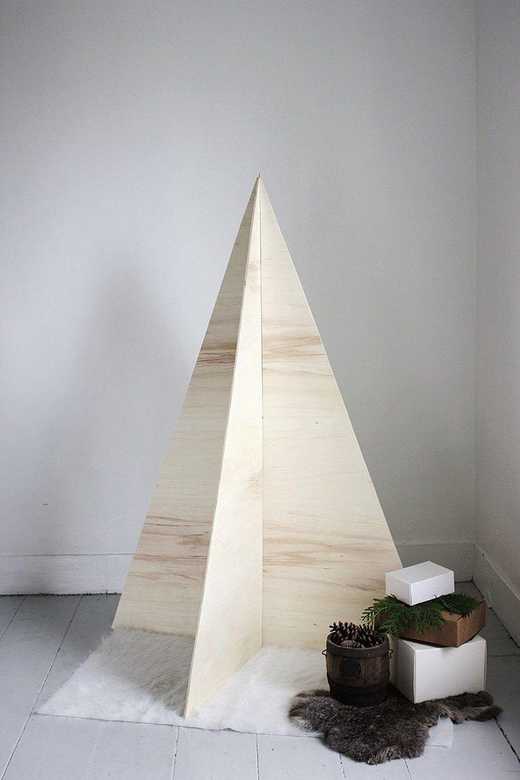 arbol-de-navidad-de-madera-pared-decoracion-ideas-simples