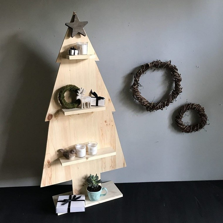 arbol-de-navidad-de-madera-pared-decoracion-pequenos