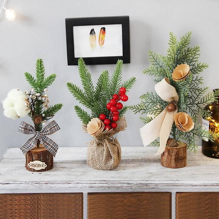arbol de navidad ideas miniatura