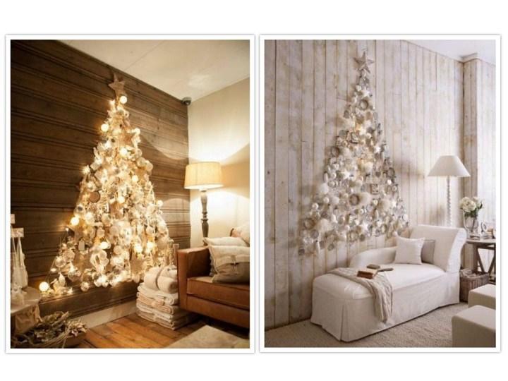 arbol de navidad madera clara