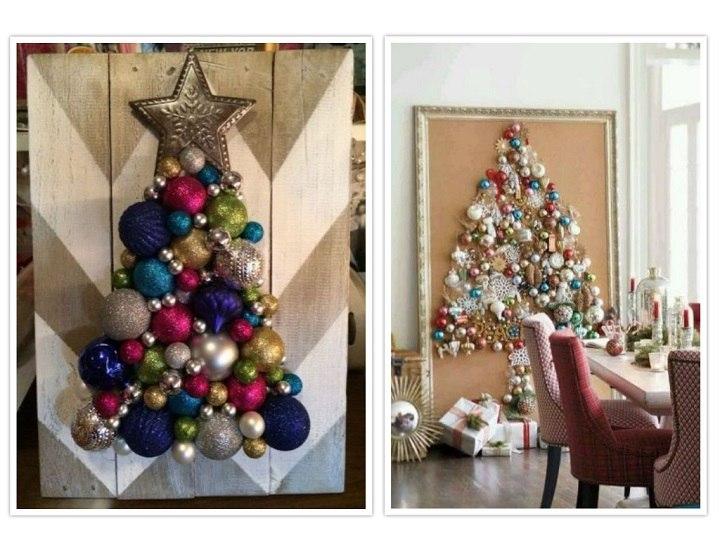 arbol de navidad mesas madera