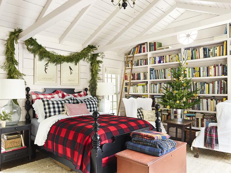 arboles-de-navidad-originales-decorar-dormitorio