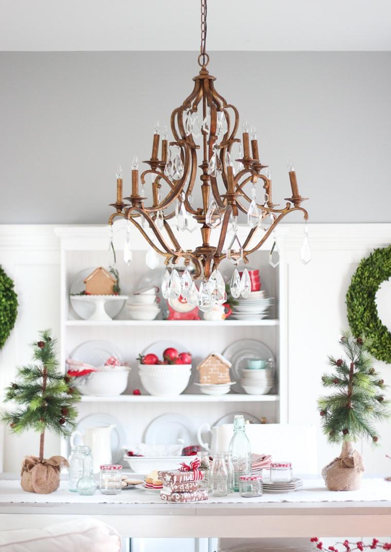 árboles de navidad originales-decorar-mesa