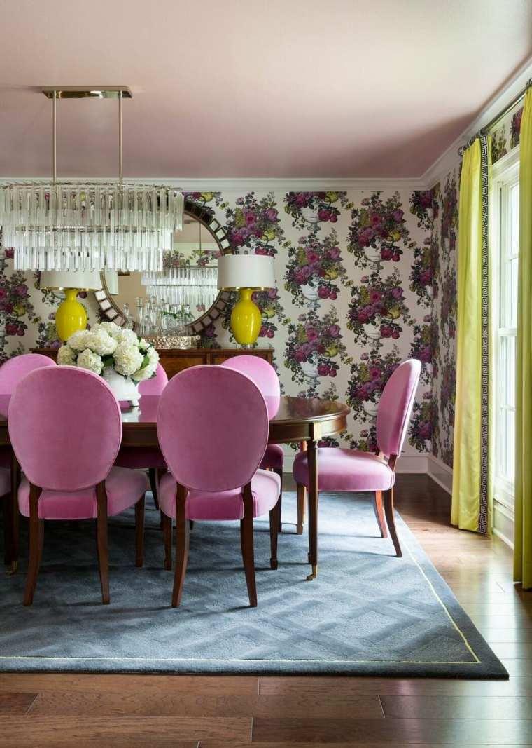 arreglos-florales-bellos-Tobi-Fairley-Interior-Design-comedor