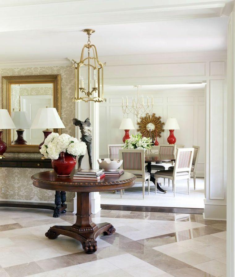 arreglos-florales-bellos-Tobi-Fairley-Interior-Design-pasillo