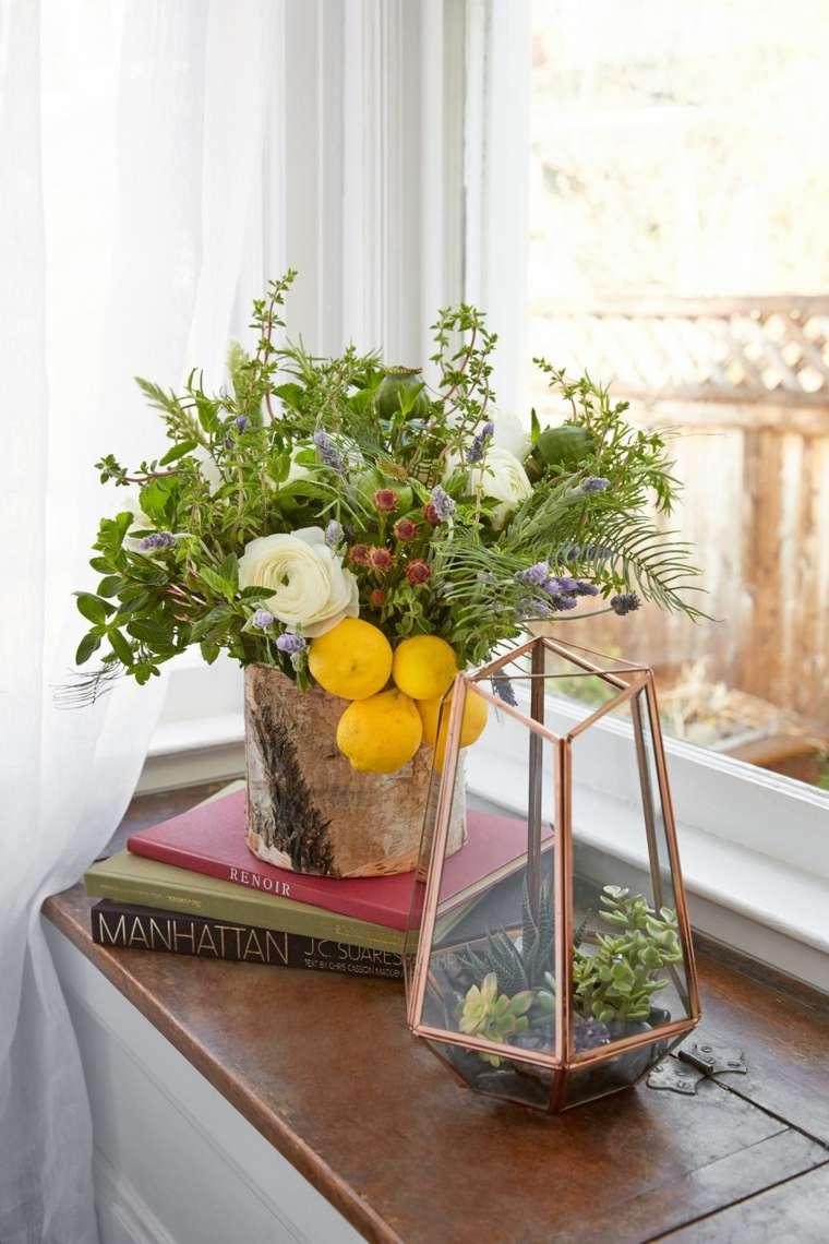 arreglos-florales-hierbas-limones