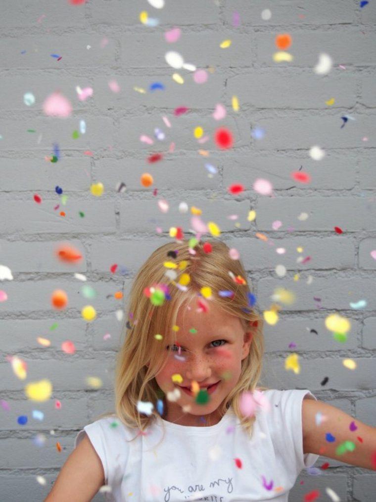 cómo organizar una fiesta confeti