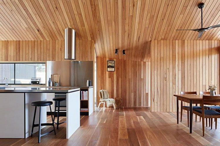 casas rusticas paredes madera