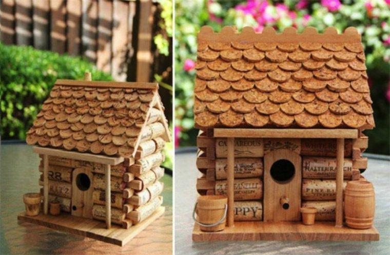 casita de corcho