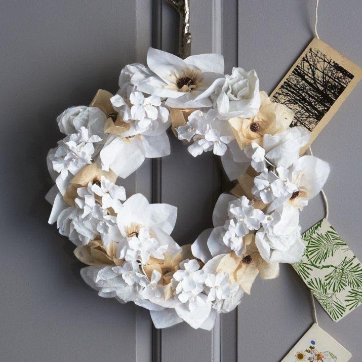 corona-decorativa-papel-navidad