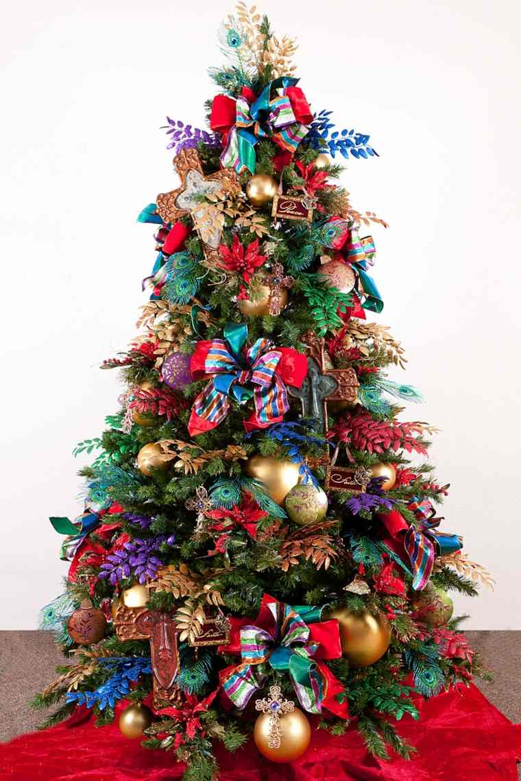 decoración-hermosa-de-árbol-de-Navidad