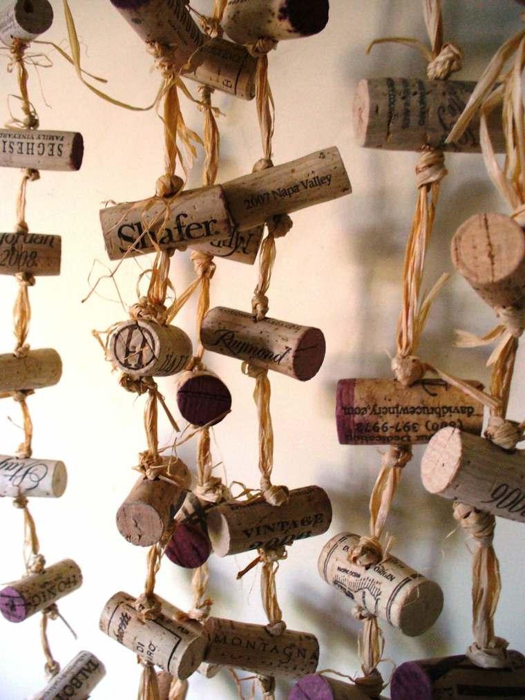 ideas con corchos de vino