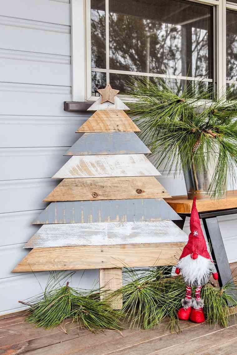 decoracion-rustica-arbol-navidad-madera-estilo