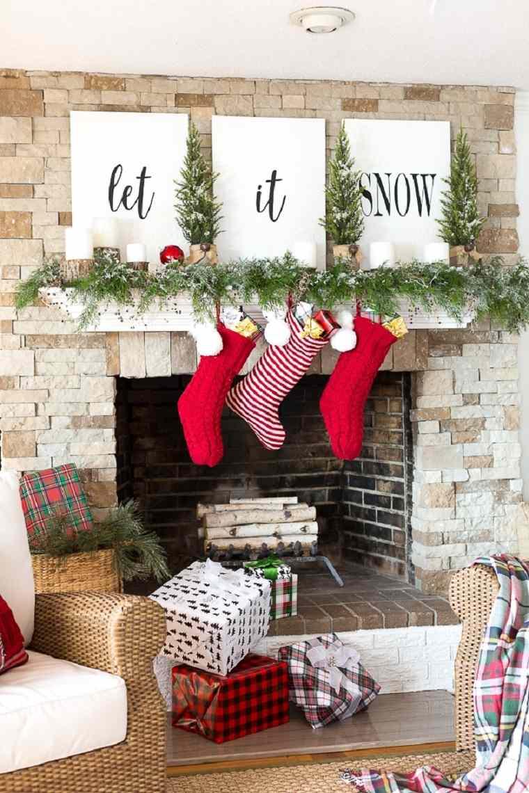 decoraciones para navidad-arboles-pequenos