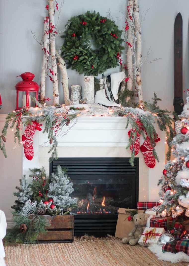 decoraciones para navidad-corona-verde