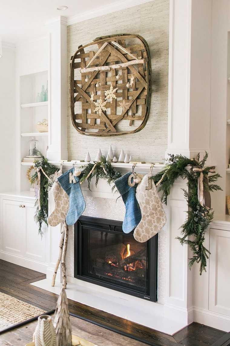 decoraciones para navidad-guirnalda-moda