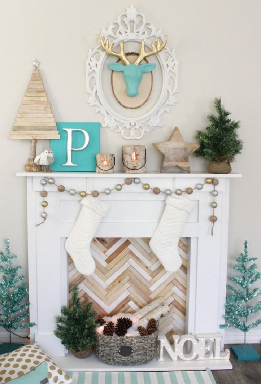 decoraciones para navidad-ideas-azul-estilo