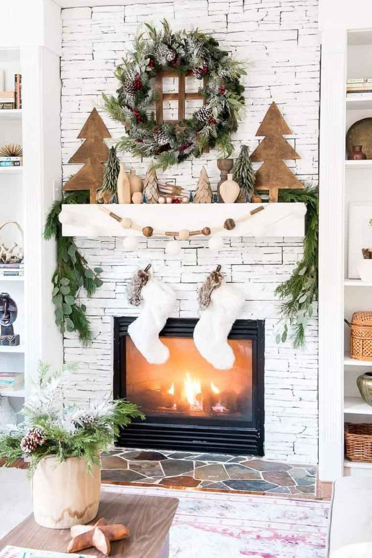 decoraciones-para-navidad-vintage-estilo