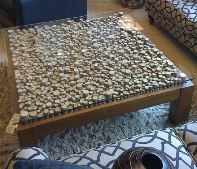 Superficie de mesa de café