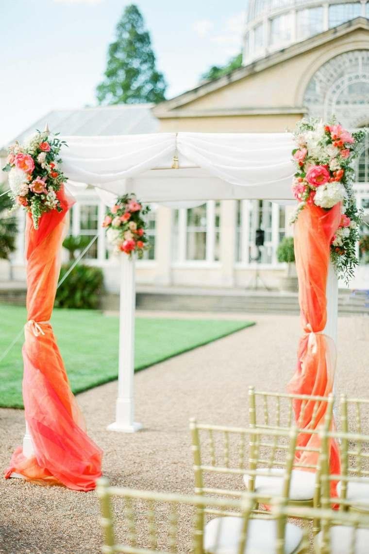 ideas-para-bodas-2019-estilo-tendencias-arca-color-naranja