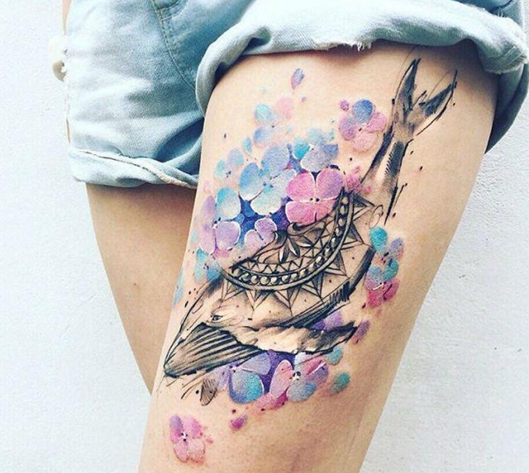 ideas para tatuajes ballena