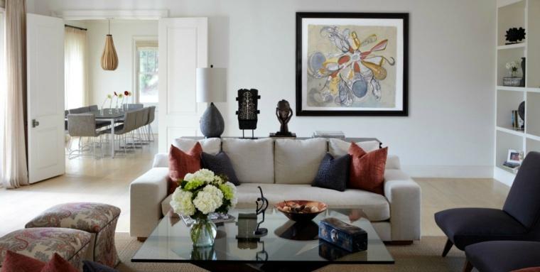 ideas-salas-modernas-ramos-flores