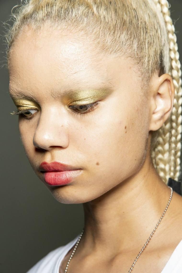 kim-shui-maquillaje-dorado-ideas