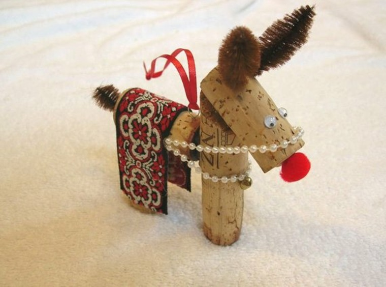DIY juguetes de corcho de vino