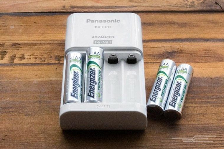 Baterías recargables con cargador
