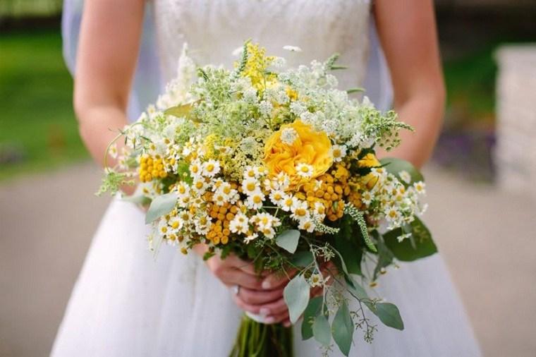 ramo-novia-margarita-rosas-jardin-ideas