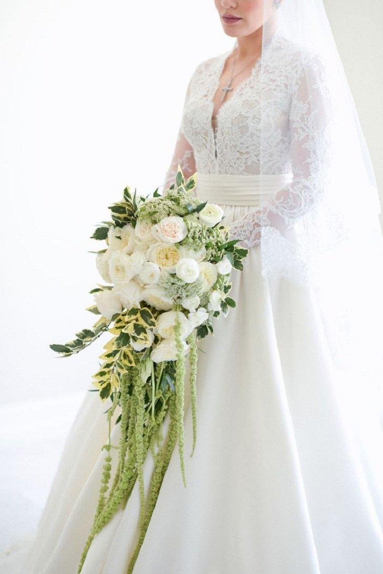 ramo-novia-rosas-amaranthus-verdes-ideas