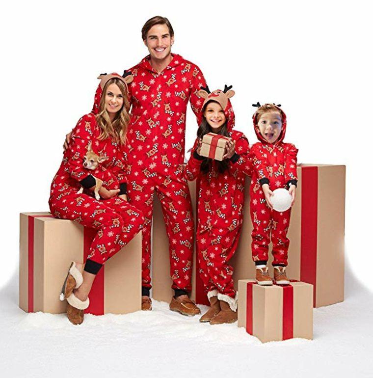 pijama para la familia