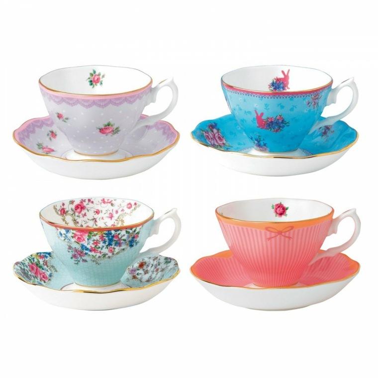 Juego de tazas de té