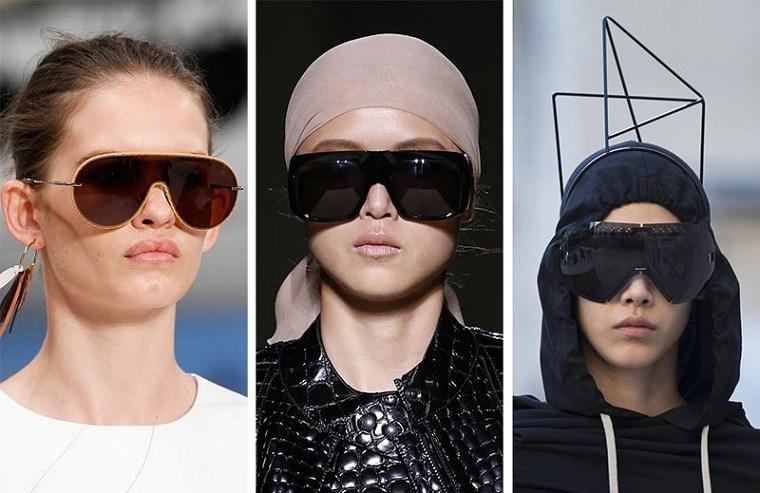 View in gallery tendencias gafas-sol-primavera-verano-proteccion-seria  Tendencias gafas 2019 – Lo mejor de las pasarelas de moda ... 53b3bcb287a6