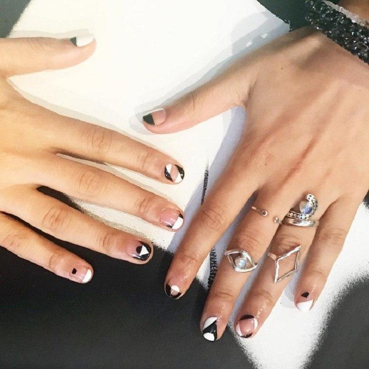 unas-decoradas-opciones-estilo-blanco-negro