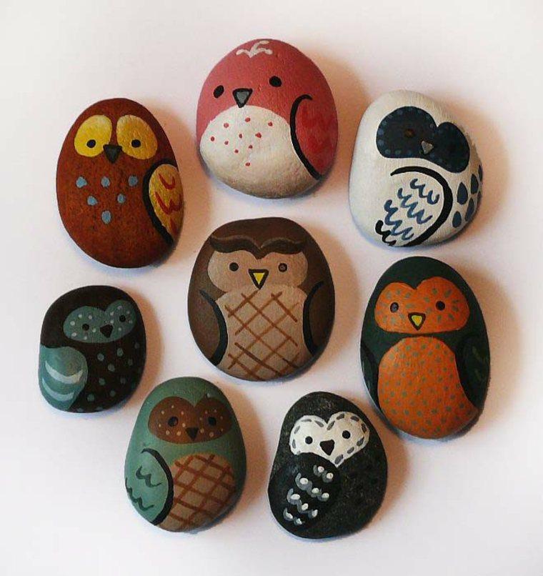 ¿Como pintar las rocas cerosas?