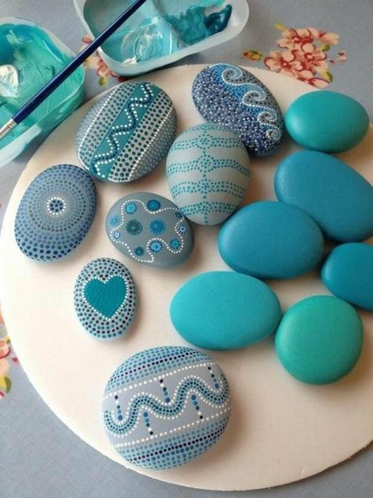manualidades piedras