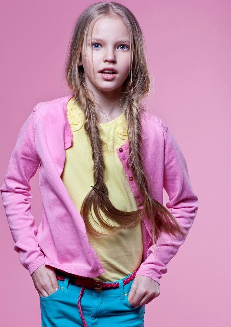 cabello-largo-trenzas-estilo-chica